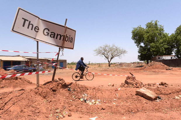 gambia sign