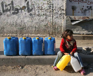 water war gaza