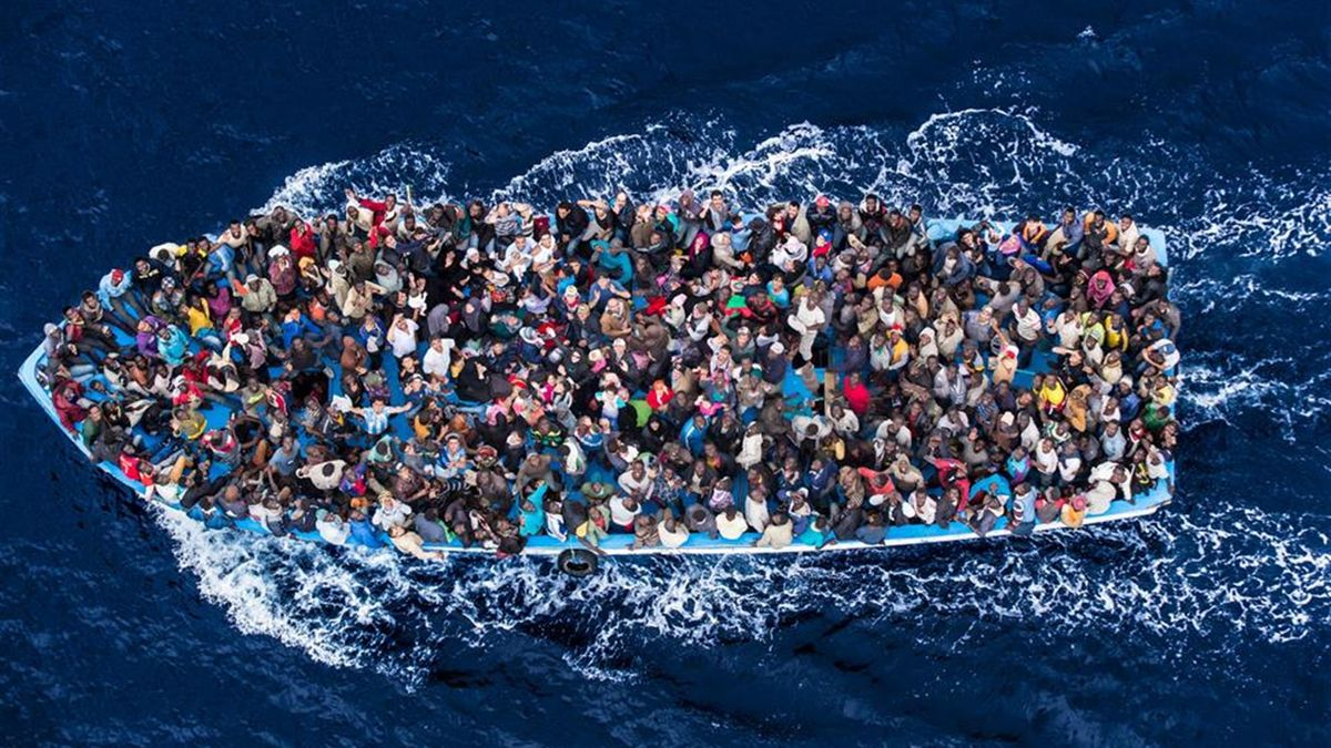 migrants from libya
