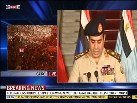 skynews egypt coup